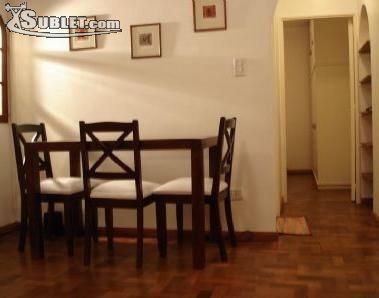 Image 2 furnished 1 bedroom Apartment for rent in Recoleta, Buenos Aires City