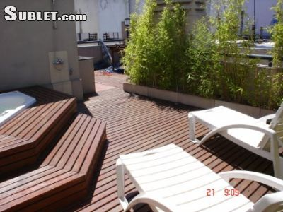 Image 2 furnished Studio bedroom Apartment for rent in Recoleta, Buenos Aires City