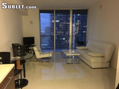 Image 1 either furnished or unfurnished 1 bedroom Apartment for rent in Brickell Avenue, Miami Area