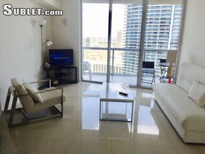 Image 3 either furnished or unfurnished 1 bedroom Apartment for rent in Brickell Avenue, Miami Area