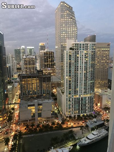 Image 5 either furnished or unfurnished 1 bedroom Apartment for rent in Brickell Avenue, Miami Area