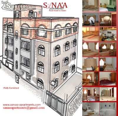 Image 1 either furnished or unfurnished 2 bedroom Apartment for rent in Sanaa, Sana