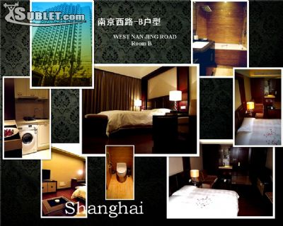 Image 1 furnished Studio bedroom Apartment for rent in Jing an, Shanghai Proper