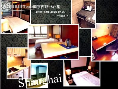 Image 2 furnished Studio bedroom Apartment for rent in Jing an, Shanghai Proper