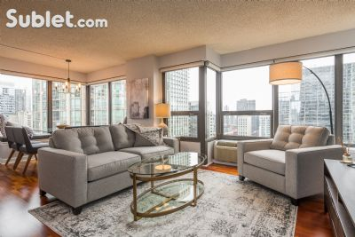 Image 2 furnished 2 bedroom Apartment for rent in Near North, Downtown