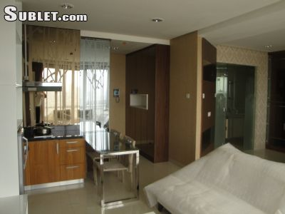 Image 2 furnished 1 bedroom Apartment for rent in South Jakarta, Jakarta