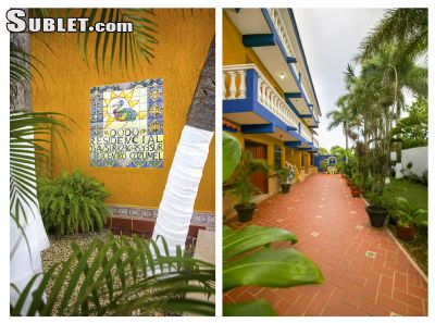 Image 5 furnished 1 bedroom Apartment for rent in Cozumel, Quintana Roo