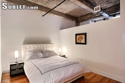 Image 1 furnished 1 bedroom Loft for rent in Downtown, Montreal