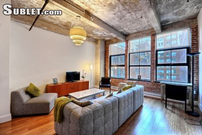 Image 2 furnished 1 bedroom Loft for rent in Downtown, Montreal