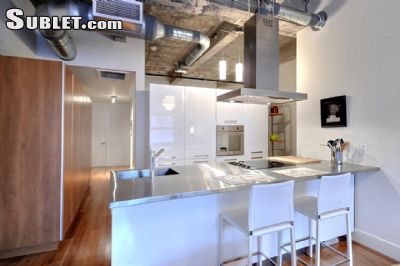 Image 3 furnished 1 bedroom Loft for rent in Downtown, Montreal