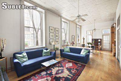 Image 1 Furnished room to rent in Tribeca, Manhattan 3 bedroom Loft