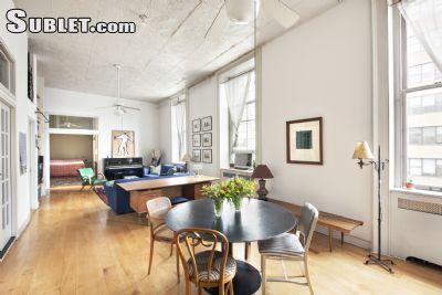 Image 2 Furnished room to rent in Tribeca, Manhattan 3 bedroom Loft