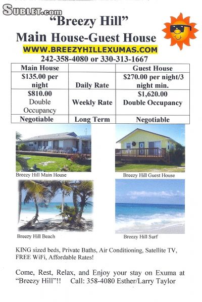 Image 9 furnished 2 bedroom Hotel or B&B for rent in Out Islands, Bahamas