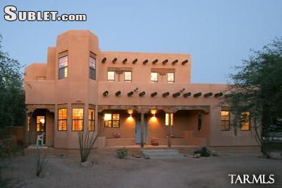 Image 1 furnished 2 bedroom House for rent in Pima (Tucson), Old West Country