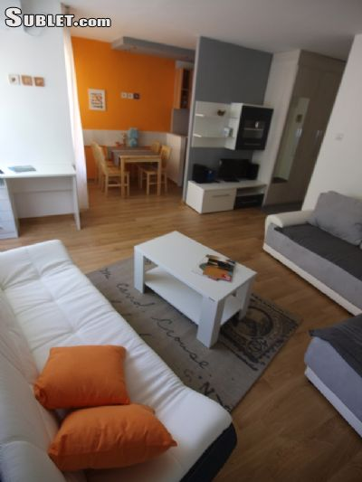 Image 3 furnished Studio bedroom Apartment for rent in Maksimir, Zagreb