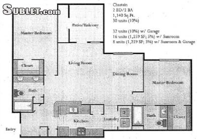Image 1 either furnished or unfurnished 2 bedroom Apartment for rent in Peachtree City, Fayette County