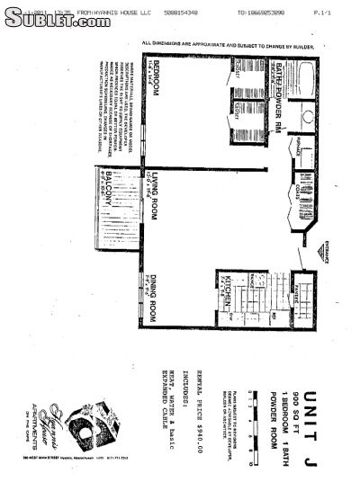 Image 10 unfurnished 2 bedroom Apartment for rent in Hyannis, Mid Cape Cod