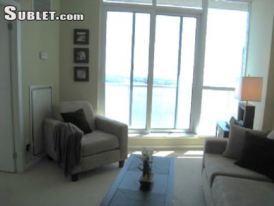 Image 1 furnished 1 bedroom Apartment for rent in Harbourfront, Old Toronto