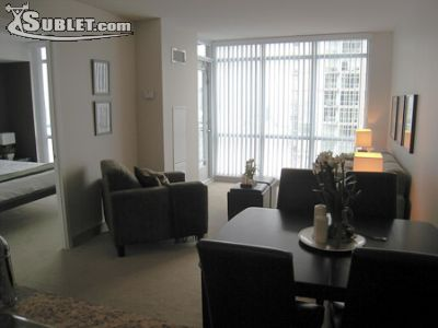 Image 2 furnished 1 bedroom Apartment for rent in Harbourfront, Old Toronto
