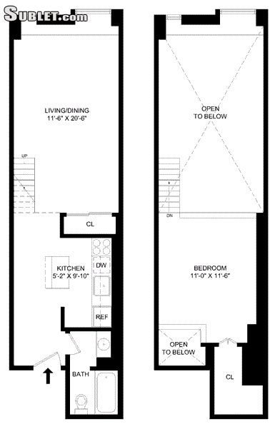 Image 10 Furnished 1 bedroom Loft for rent in Gramercy-Union Sq, Manhattan