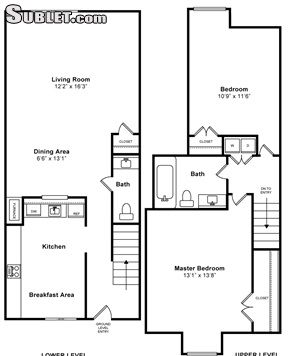 Image 3 either furnished or unfurnished 2 bedroom Apartment for rent in Waltham, Boston Area