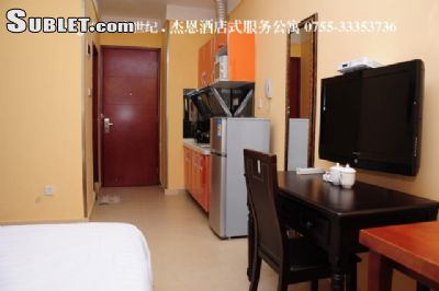 Image 2 furnished Studio bedroom Apartment for rent in Futian, Shenzhen