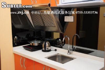 Image 3 furnished Studio bedroom Apartment for rent in Futian, Shenzhen