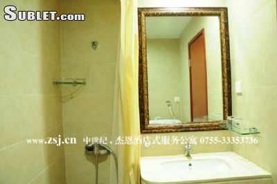 Image 4 furnished Studio bedroom Apartment for rent in Futian, Shenzhen