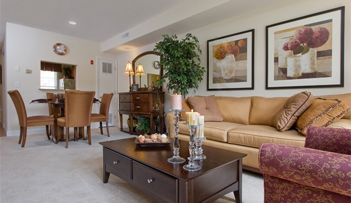 Image 3 either furnished or unfurnished 3 bedroom Apartment for rent in Westborough, Central MA