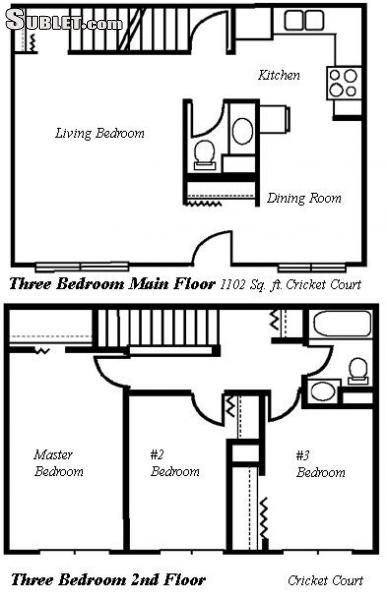 Image 5 unfurnished 3 bedroom Townhouse for rent in Aldergrove, Vancouver Area