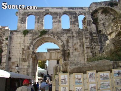 Image 2 furnished Studio bedroom Apartment for rent in Split, Split Dalmatia