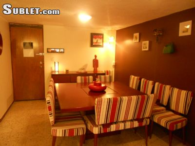 Image 2 furnished 3 bedroom Apartment for rent in Benito Juarez, Mexico City