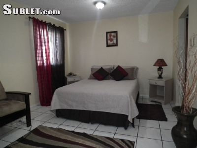 Image 1 furnished Studio bedroom Apartment for rent in Constant Spring, Kingston St Andrew