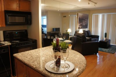 Image 5 furnished 1 bedroom Apartment for rent in Yorkville, Old Toronto