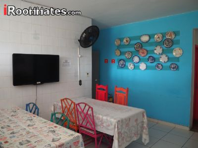 Image 2 Furnished room to rent in Vitoria, Espirito Santo 3 bedroom Dorm Style