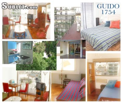 Image 5 furnished 3 bedroom Apartment for rent in Recoleta, Buenos Aires City
