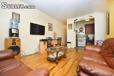 furnished harlem west room to rent in 1 bedroom apartment