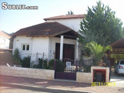 Image 1 furnished 4 bedroom House for rent in Rehovot, Central Israel
