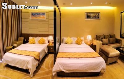 Image 2 furnished 1 bedroom Apartment for rent in Tianhe, Guangzhou