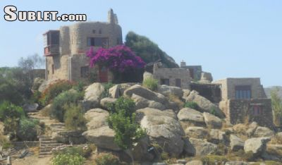 Image 1 furnished 4 bedroom House for rent in Mykonos, Cyclades