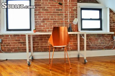 Image 2 furnished Studio bedroom Loft for rent in Greenpoint, Brooklyn