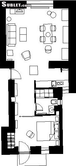 Image 6 furnished 1 bedroom Apartment for rent in Gornji Grad, Zagreb