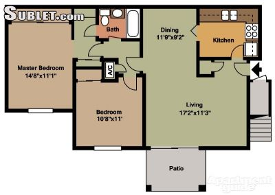 Image 6 unfurnished 2 bedroom Apartment for rent in Airport Highlands, Airport Hills