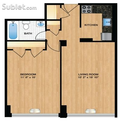Image 5 unfurnished 1 bedroom Apartment for rent in Columbia Hts-Shaw, DC Metro