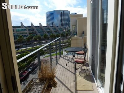 Image 5 furnished 2 bedroom Apartment for rent in Gaslamp Quarter, Central San Diego