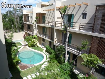 Image 1 furnished 1 bedroom Apartment for rent in Tulum, Quintana Roo