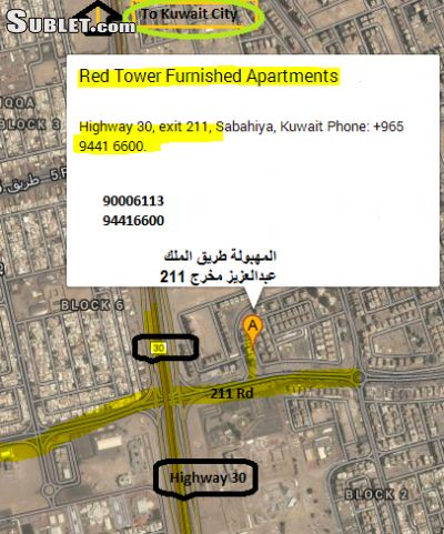 Image 3 furnished 1 bedroom Hotel or B&B for rent in Mahboola, Al Amadi