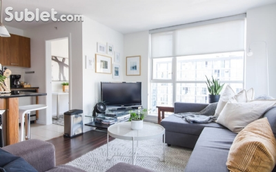 Image 4 furnished 1 bedroom Apartment for rent in Yaletown, Vancouver Area