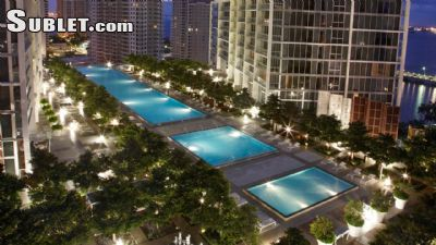 Image 1 furnished 2 bedroom Apartment for rent in Brickell Avenue, Miami Area