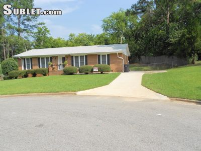 Image 1 furnished 4 bedroom House for rent in Richmond (Augusta), Classic South